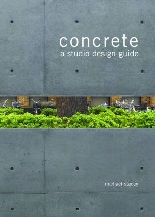 Concrete: A Studio Design Guide, 1st Edition (Paperback) book cover