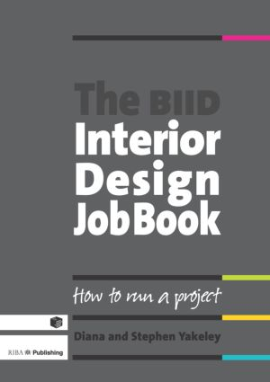The BIID Interior Design Job Book (Paperback) book cover