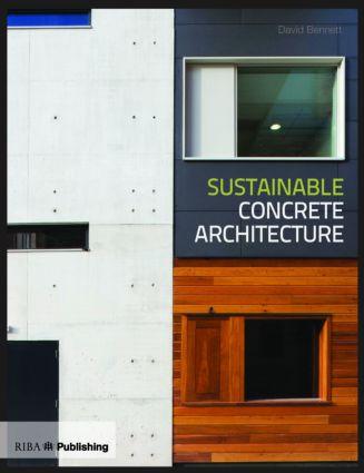 Sustainable Concrete Architecture (Paperback) book cover