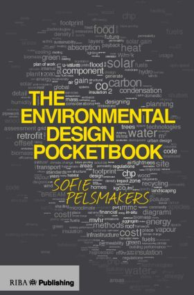 The Environmental Design Pocketbook (Paperback) book cover