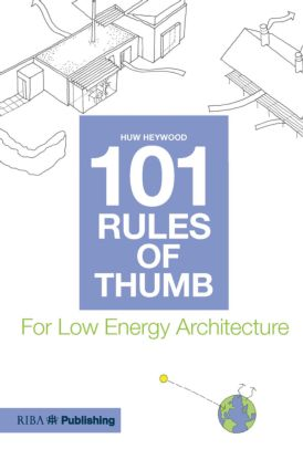 101 Rules of Thumb for Low Energy Architecture (Paperback) book cover