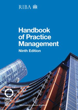 RIBA Architect's Handbook of Practice Management: 9th Edition book cover