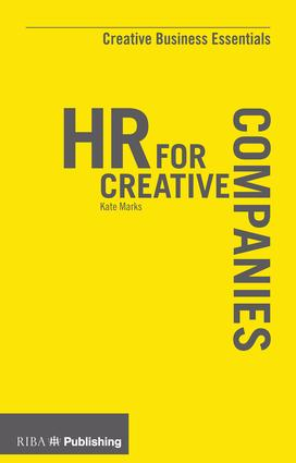 HR for Creative Companies: 1st Edition (Paperback) book cover