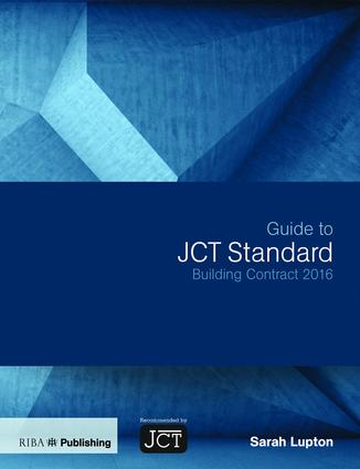 Guide to JCT Standard Building Contract 2016 book cover