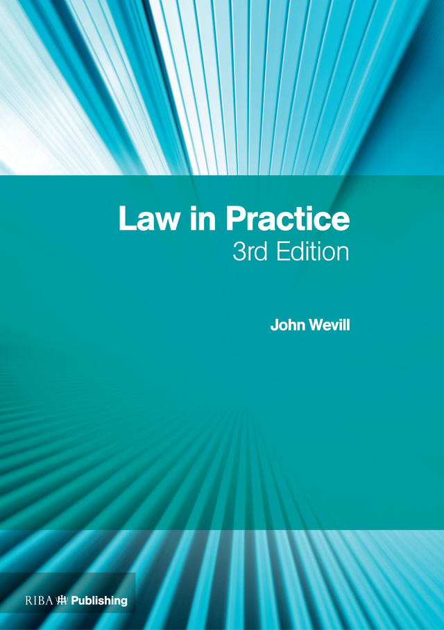 Law in Practice: The RIBA Legal Handbook book cover