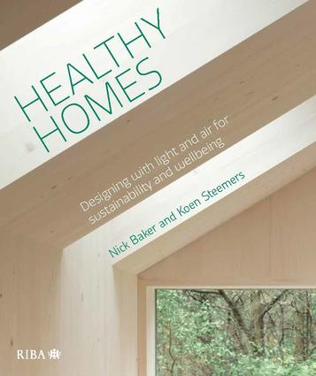Healthy Homes: Designing with light and air for sustainability and wellbeing book cover