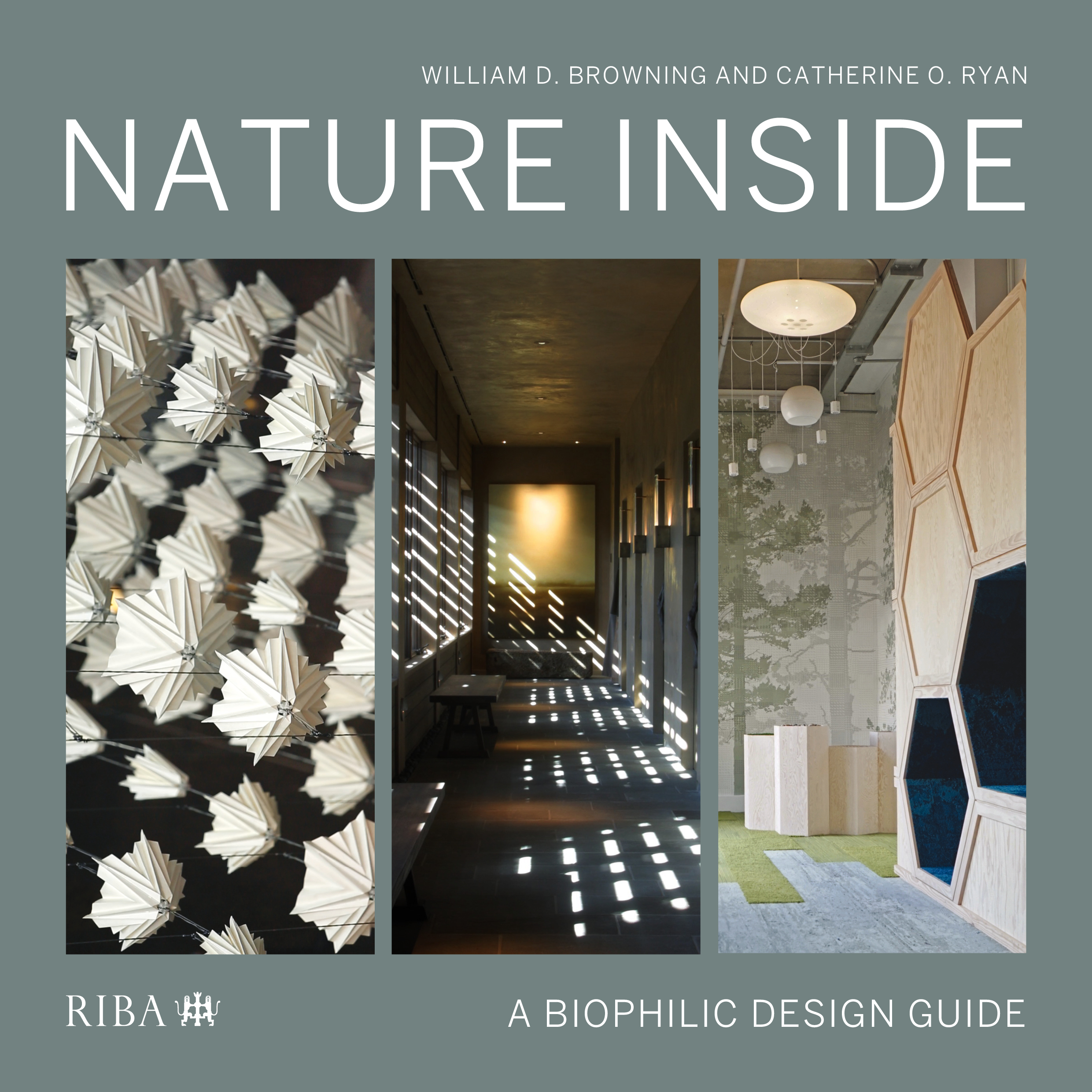 Nature Inside: A biophilic design guide book cover