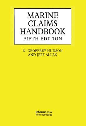 Marine Claims Handbook