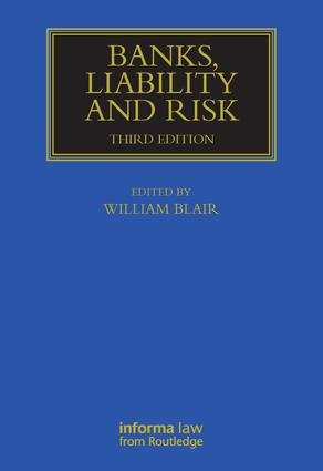 Banks, Liability and Risk: 3rd Edition (Hardback) book cover