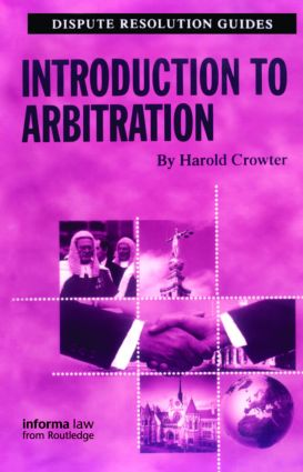 Introduction to Arbitration: 1st Edition (Paperback) book cover