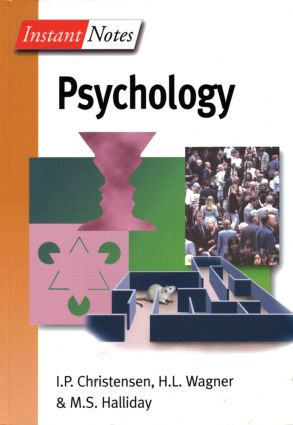 BIOS Instant Notes in Psychology (Paperback) book cover