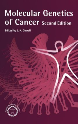 Molecular Genetics of Cancer: 1st Edition (Hardback) book cover