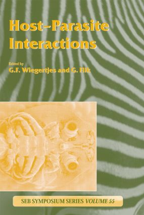 Host-Parasite Interactions (Hardback) book cover