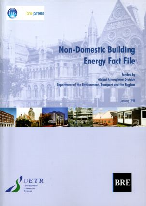 Non-Domestic Building Energy Fact File: (BR 339), 1st Edition (Paperback) book cover