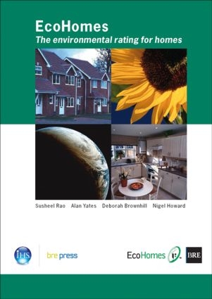 EcoHomes: The Environmental Rating for Homes (BR 389), 1st Edition (Paperback) book cover