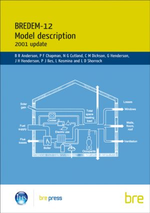 BREDEM-12 Model Description: 2001 update: (BR 438), 1st Edition (Paperback) book cover