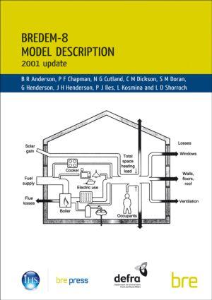 BREDEM-8 Model Description: 2001 Update (BR 439), 1st Edition (Paperback) book cover