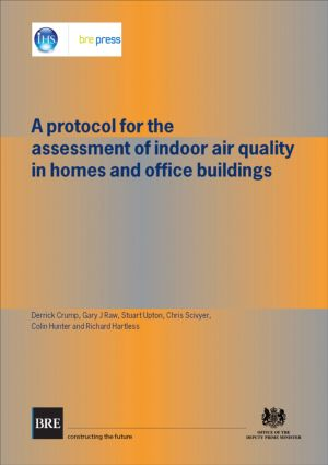 A Protocol for the Assessment of Indoor Air Quality in Homes and Office Buildings: (BR 450), 1st Edition (Paperback) book cover