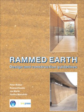 Rammed Earth: Design and Construction Guidelines (EP 62), 1st Edition (Paperback) book cover