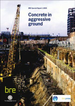 Concrete in Aggressive Ground: (SD 1), 3rd Edition (Paperback) book cover