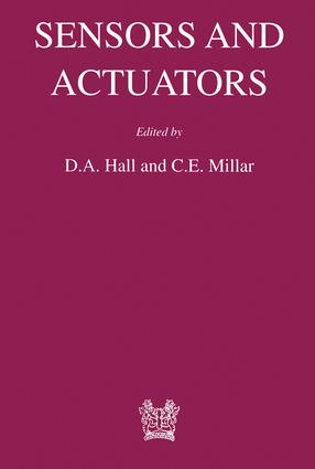 Sensors and Actuators: 1st Edition (Hardback) book cover