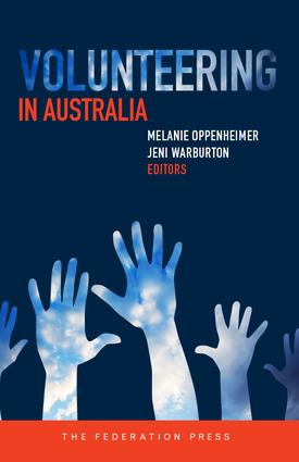 Volunteering in Australia: 1st Edition (Paperback) book cover