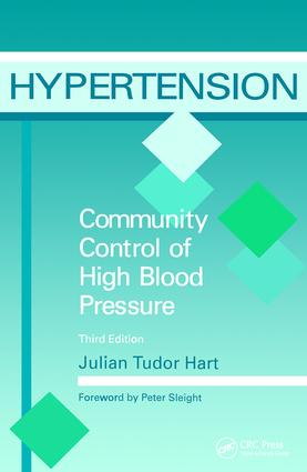 Hypertension: Community Control of High Blood Pressure, Third Edition, 3rd Edition (Paperback) book cover