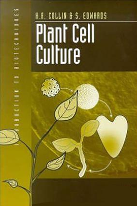 Plant Cell Culture: 1st Edition (Paperback) book cover