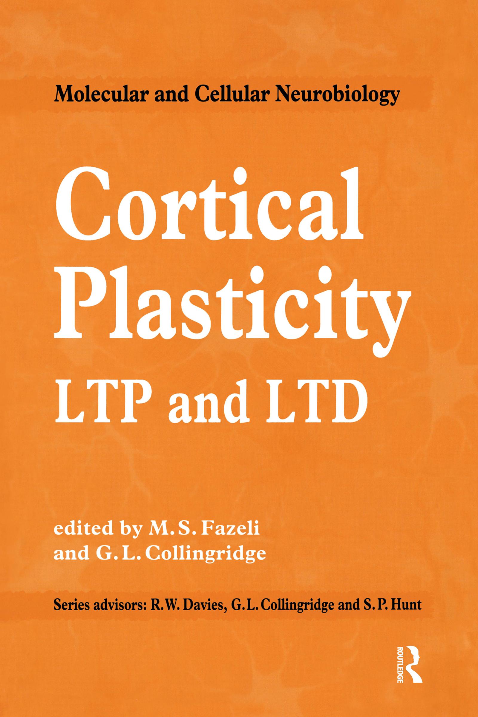 Cortical Plasticity: 1st Edition (Hardback) book cover