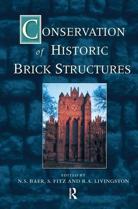 Conservation of Historic Brick Structures: 1st Edition (Hardback) book cover