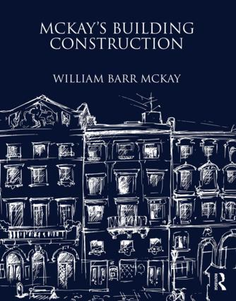 McKay's Building Construction: 1st Edition (Hardback) book cover
