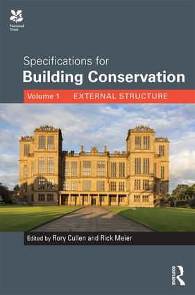 Specifications for Building Conservation: Volume 1: External Structure book cover