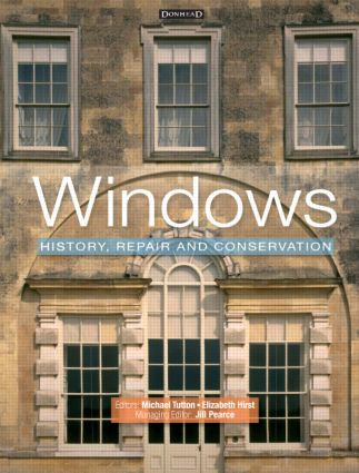 Windows: History, Repair and Conservation (Hardback) book cover