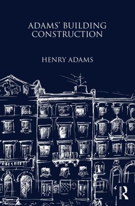 Adams' Building Construction (Hardback) book cover