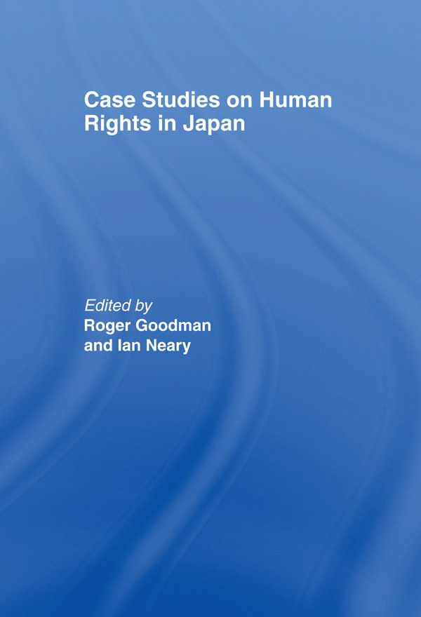 Case Studies on Human Rights in Japan (Hardback) book cover