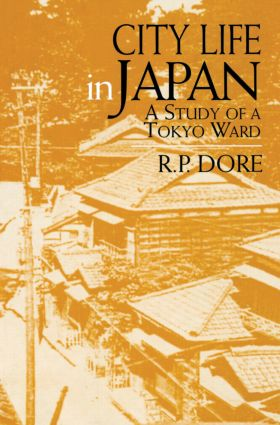 City Life in Japan: 1st Edition (Paperback) book cover