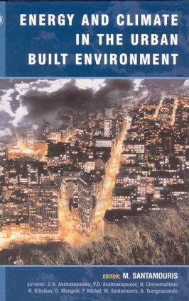 Energy and Climate in the Urban Built Environment (Hardback) book cover