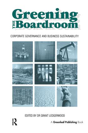 The Global 500, Big Oil and Corporate Environmental Governance