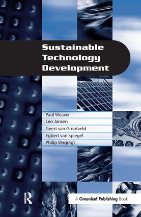 Sustainable Technology Development: 1st Edition (Hardback) book cover