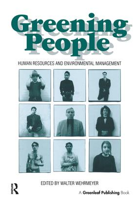 Greening People: Human Resources and Environmental Management, 1st Edition (Hardback) book cover