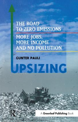UpSizing: The Road to Zero Emissions: More Jobs, More Income and No Pollution (Paperback) book cover