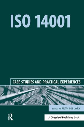 ISO 14001: Case Studies and Practical Experiences, 1st Edition (Paperback) book cover