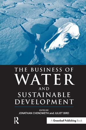 The Business of Water and Sustainable Development: 1st Edition (Hardback) book cover