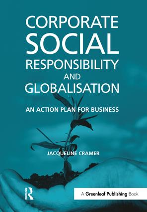 Corporate Social Responsibility and Globalisation: An Action Plan for Business, 1st Edition (Hardback) book cover