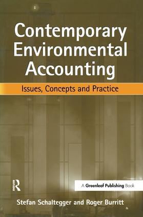 Contemporary Environmental Accounting: Issues, Concepts and Practice, 1st Edition (Hardback) book cover
