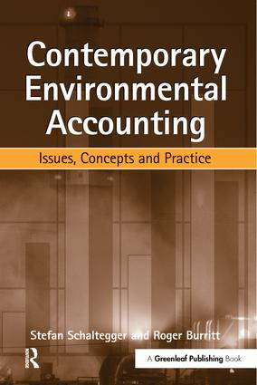 Contemporary Environmental Accounting: Issues, Concepts and Practice, 1st Edition (Paperback) book cover