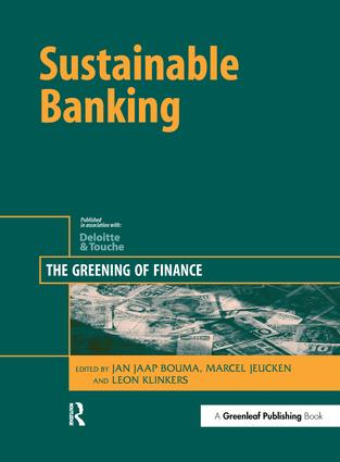 Sustainable Banking: The Greening of Finance book cover