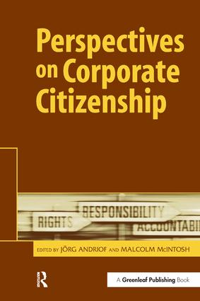 Perspectives on Corporate Citizenship book cover