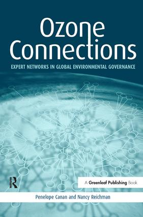 Ozone Connections: Expert Networks in Global Environmental Governance book cover