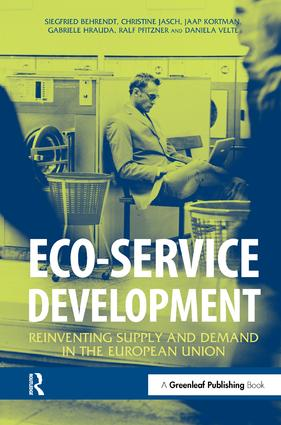Eco-service Development: Reinventing Supply and Demand in the European Union, 1st Edition (Hardback) book cover